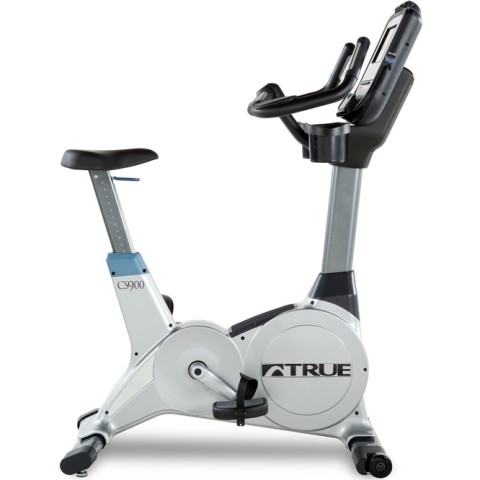 True CS900 Upright Bike Escalate Console