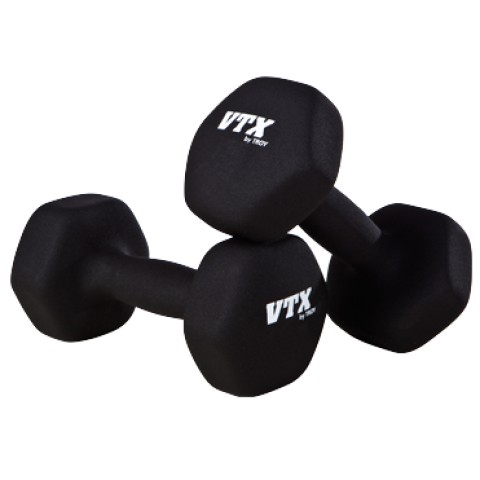 VTX by Troy neoprene dumbbells