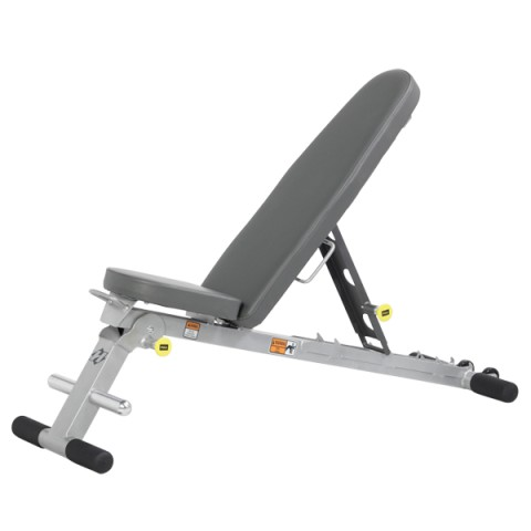 Hoist 5-Position Fold Up Bench PS/SLATE