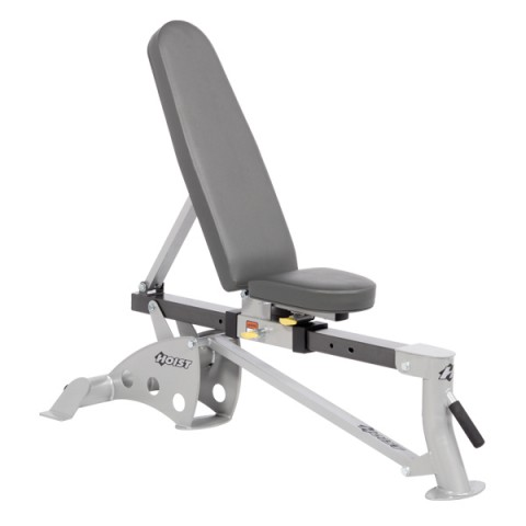 Hoist Folding Flat/Incline Bench PS/SLATE