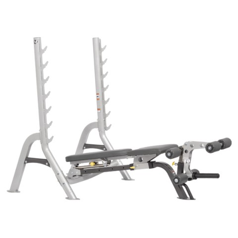 Hoist Olympic Folding Bench PS/SLATE