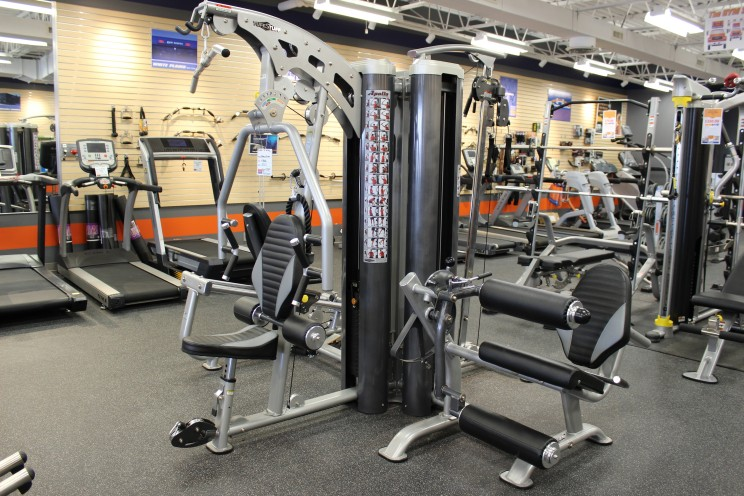We also carry strength training equipment