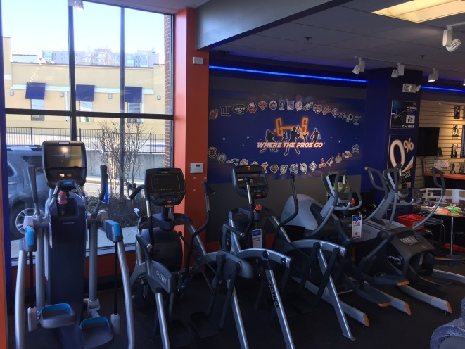 Come test our ellipticals, we know there's one for you. We have many to choose from and the flood models are only a small sample of what we carry!