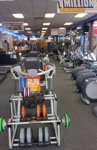 Come test all of our treadmills or elliptical and find the right one for you.. We have quality products to choose from. We also have home gyms, strength training equipment, exercise bikes, recumbent bikes, indoor cycles, and more.