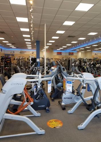 We have plenty quality ellipticals to try and choose from.