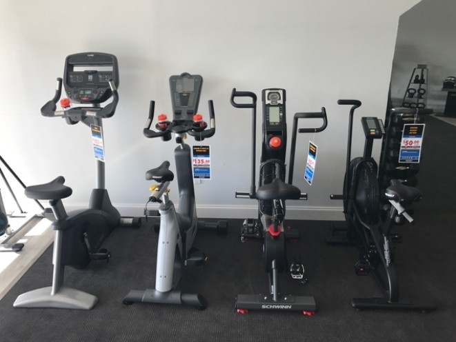 Upright bikes.. indoor cycles..
