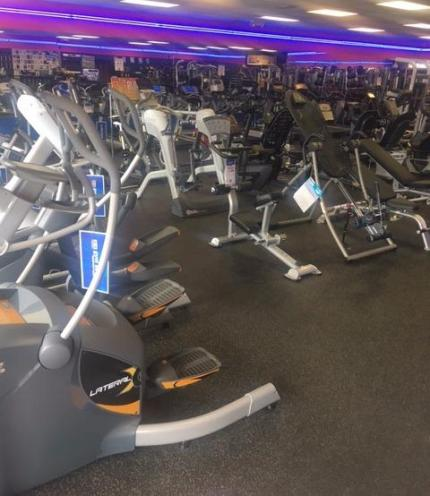 We have many ellipticals to choose from.