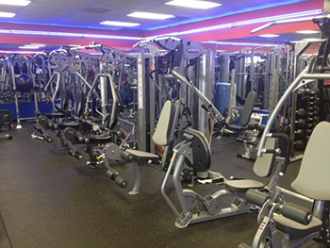 Feel free to come try out our strength training equipment.