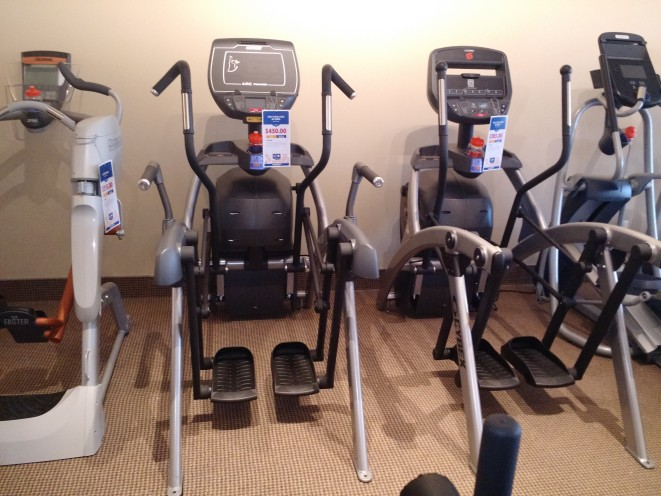 Come test out our arc trainers and ellipticals until you find one that is right for you.