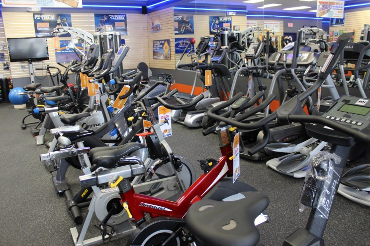 We have all sorts of exercise bikes. Whether you're looking for an upright bike, recumbent bike, elliptical bike, or indoor cycle, we have it all.