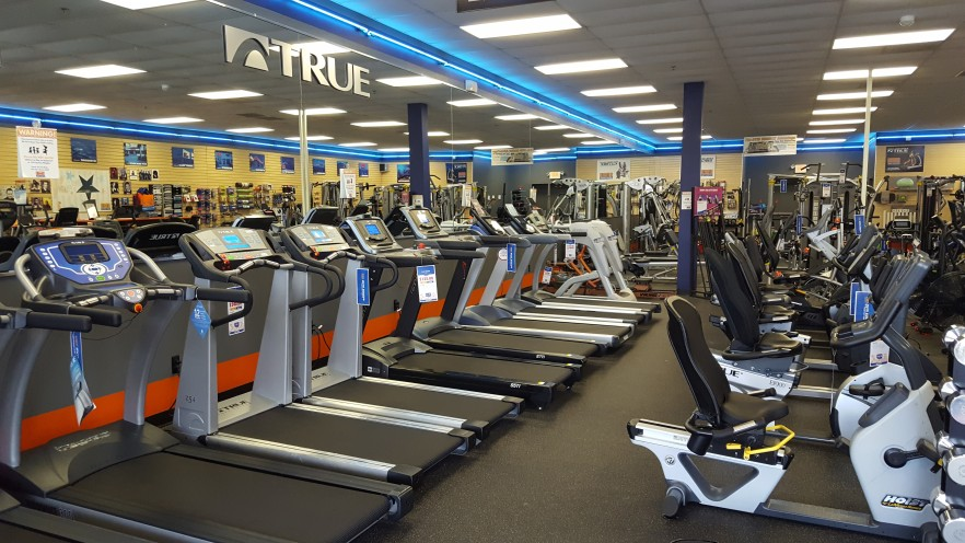 Come try one of our many treadmills and find one that's right for you.