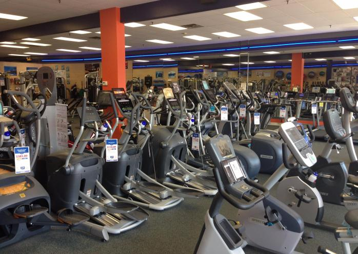 We have many ellipticals to choose from. Feel free to come on by and try them all out until you find one that's right for you.