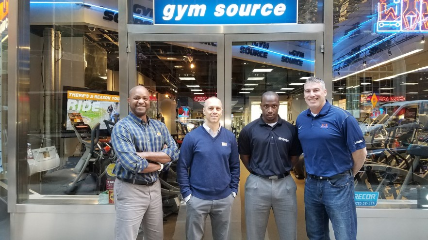 Your gym equipment experts.