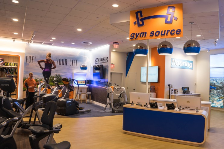 Gym Source interior angle