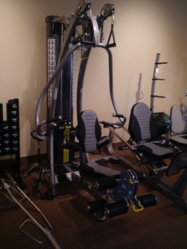 We have a variety of home gyms and strength training equipment to choose from.