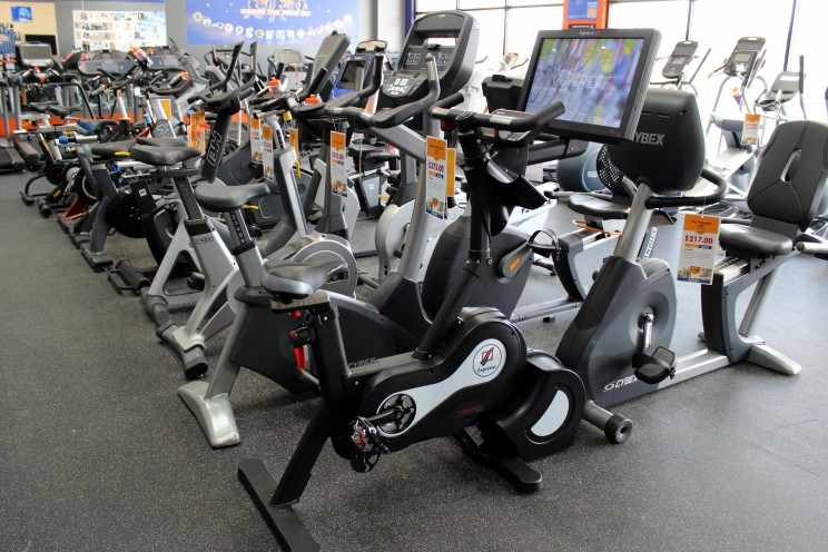 We have plenty of upright bikes to choose from. We also carry a variety of recumbent bikes and indoor cycles. We're sure we have the exercise bike for you.
