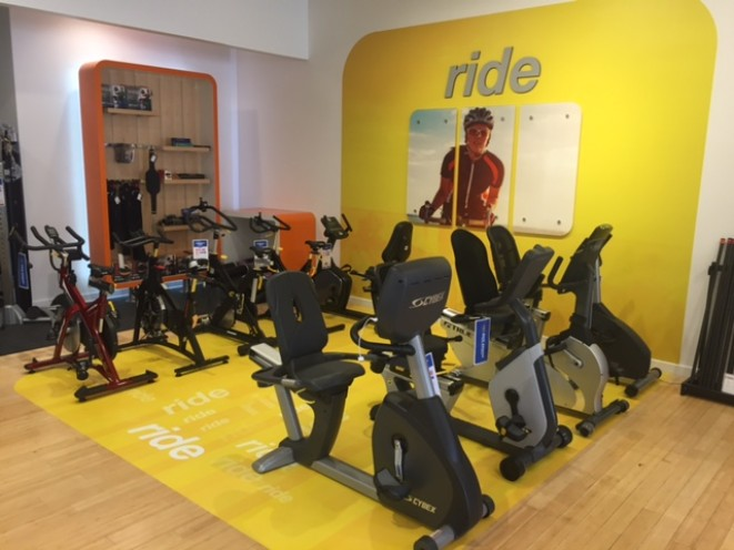 Recumbent bikes, upright bikes,indoor cycles,..we have it all!