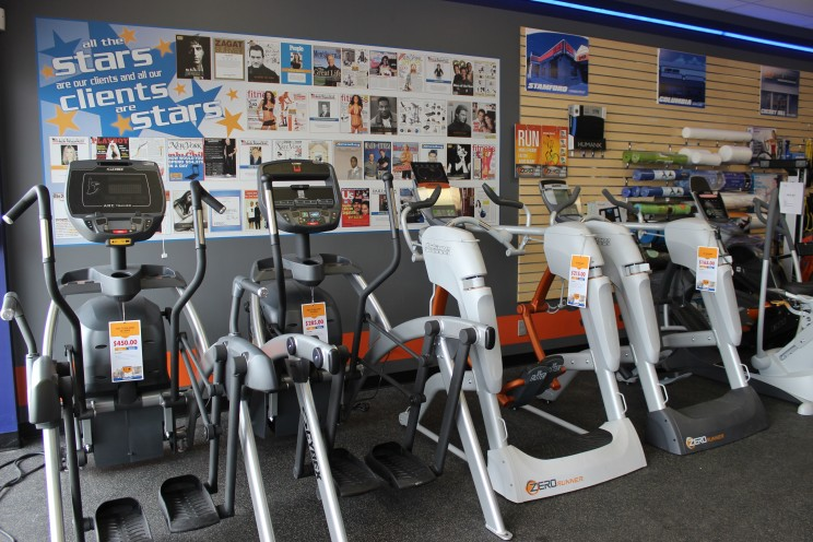 Arc Trainers and ellipticals
