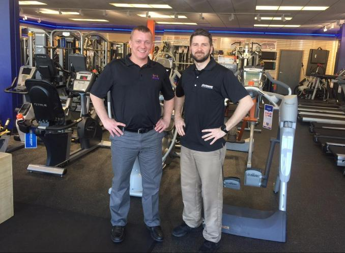 Come see your gym equipment experts today!