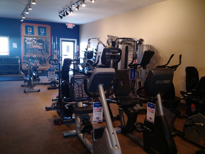 Recumbent bikes, elliptical bikes, indoor cycles...did we mention we have it all?