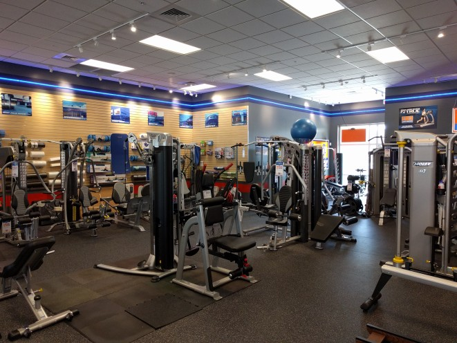 We also carry home gyms, strength training equipment, exercise bikes, indoor cycles, upright bikes, recumbent bikes, and more.