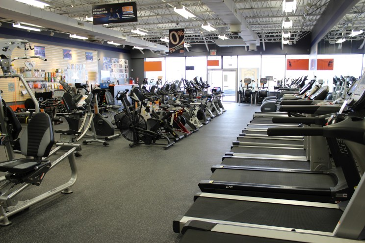 Come test out our quality treadmills and ellipticals and see which one's right for you. Our floor models are only a sample of the inventory we carry.