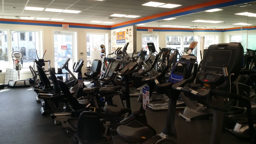 Come by and try our many treadmills, ellipticals, exercise bikes, recumbent bikes, upright bikes, indoor cycles, and see which one is best for you.