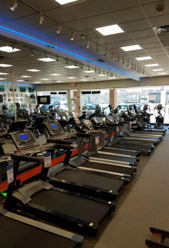 Come test our treadmills!
