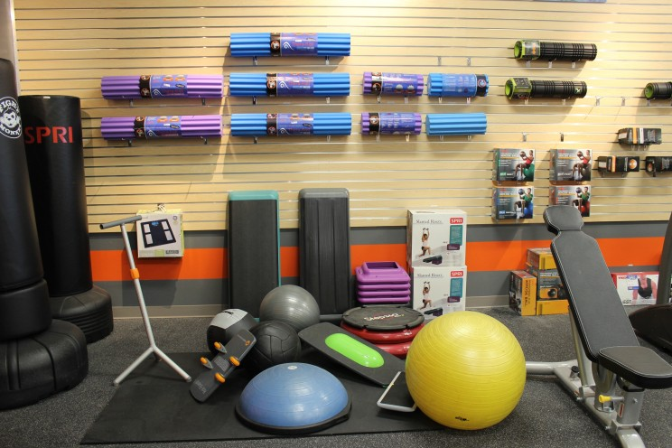 We have all the gym accessories you need.
