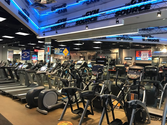 Check out our showroom and try our quality treadmills and ellipticals until you find one that's right for you.