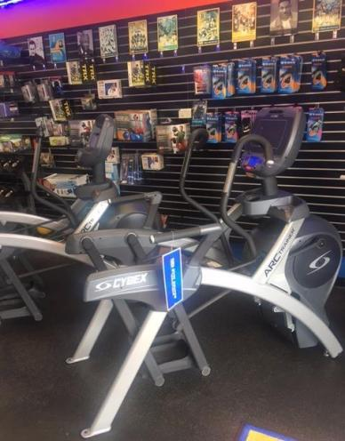 We highly recommend you try the Cybex Arc Trainer.