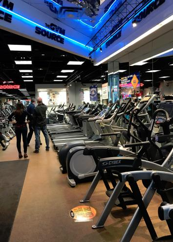 We have a lot of gym equipment to choose from! Come try it out today.