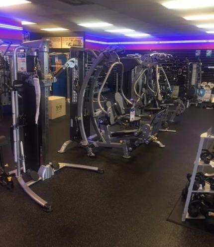 We have it all, strength training equipment, home gyms, and more.
