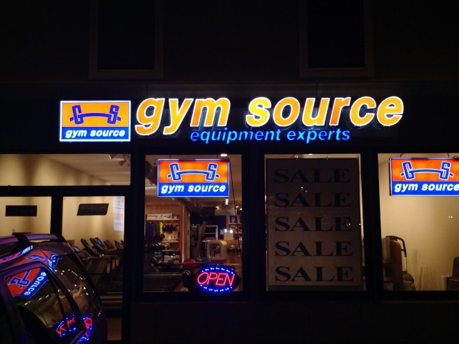 Midnight Madness at Gym Source.