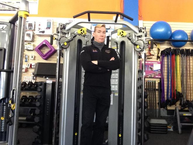 Norm, your gym equipment expert.