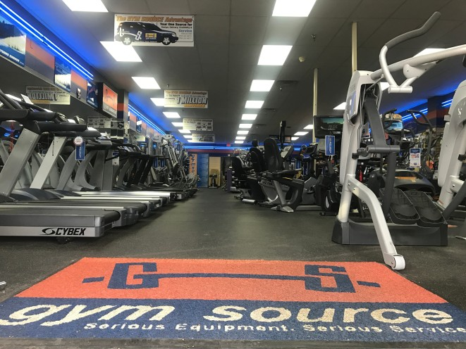 Your source for fitness equipment.