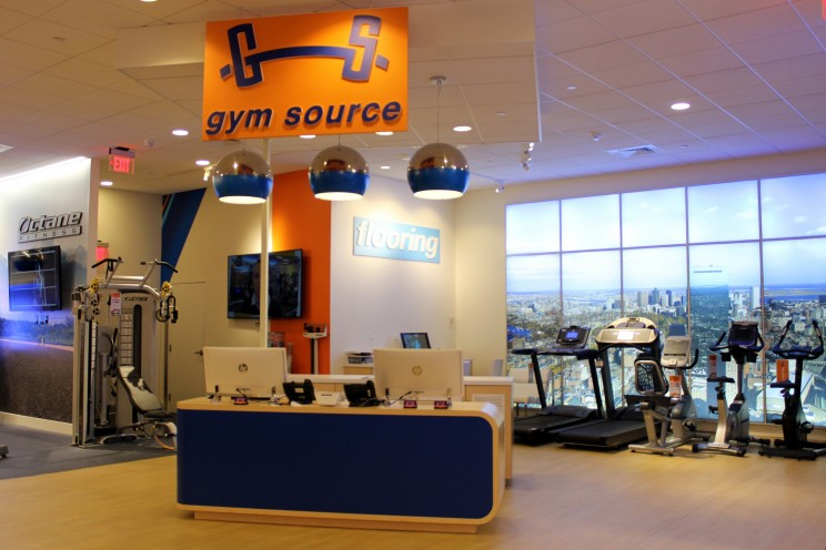 Gym Source interior