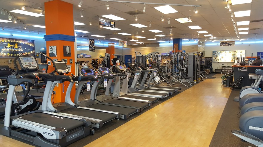 Come test out our treadmills and find one that's right for you. These floor models are only a sample of what we carry.