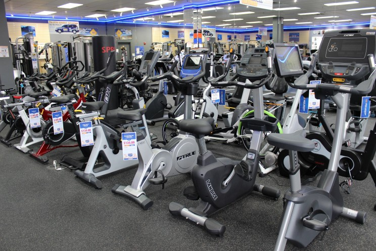 We have plenty of exercise bikes, upright bikes,  and indoor cycles.